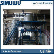 Electric Vacuum Induction Melting Furnace for Steel Gold Aluminum