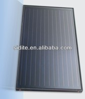 Flat Plate Solar Collector Aluminum Alloy Solar Collector/ Epdm Pool Solar Heating Collector 2000*1060*80 and Heating Spiral Hot