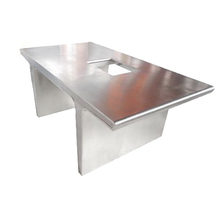 Custom Stainless Steel Service Desk and Table Sheet Metal In China Chuangxing Precision Fabrication