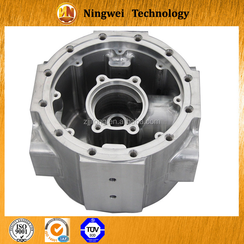 high quality precision cnc machining aluminum parts/Shaoxing manufacturers, customized machined aluminium body