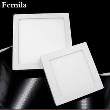18W surface mounted square led panel light led ceiling panel light White Surface Mounted Square LED Back Panel Light