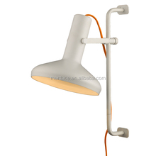 Modern Style and white/black Color energy saving wall light fixtures