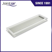 HVAC System Aluminum Air Diffusers Grilles for Door Wall in Fixed Core