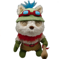 cartoon character soft toy league of legends teemo plush toy