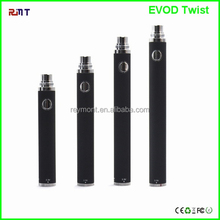 2014 Top Selling Evod Twist 1300 Battery and eGo Twist Battery