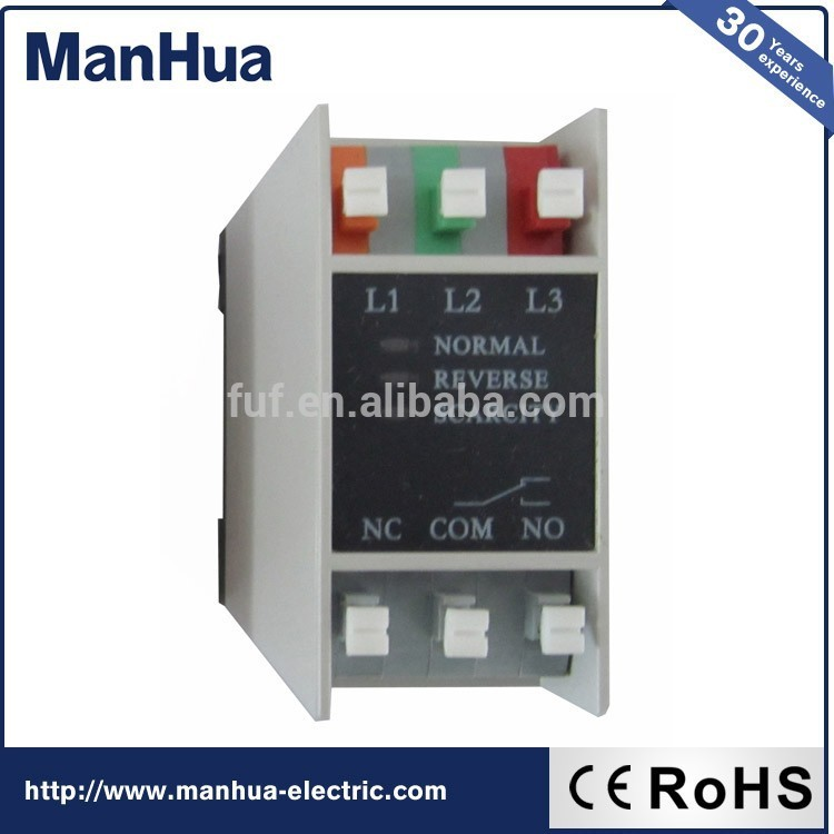 Cheap Items To Sell 220~460VAC Phase Sequence And Phase Failure Relay