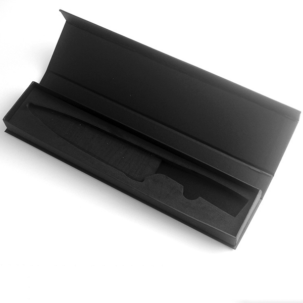 High-end single knife manual box black gift box 8-inch chef knife special gift box