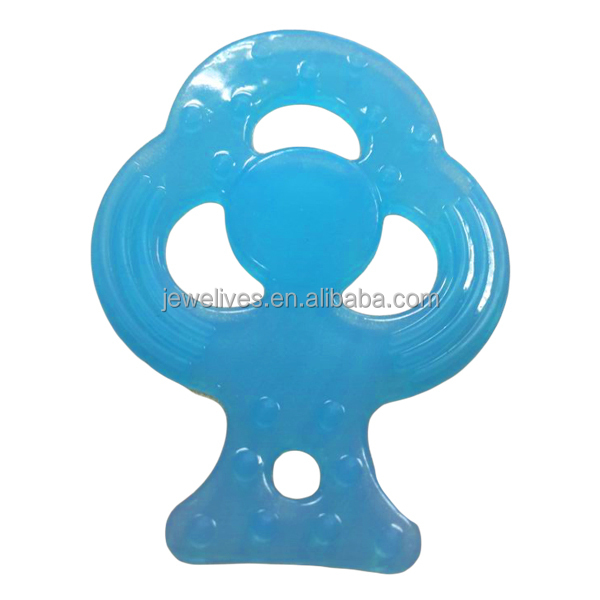 Various funny shape transparent silicone baby teether