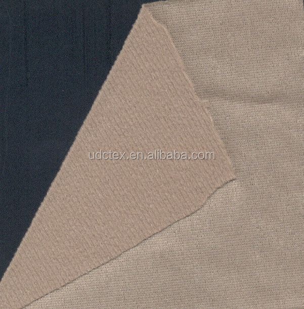 Factory price polyester tricot brushed raschel knit fabric