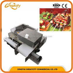 automatic beef/ mutton/ lamb meat skewer machine