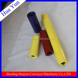 China troughing carry roller with 3 rollers/conveyor roller