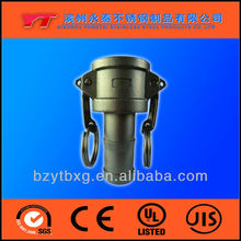 stainless steel lovejoy types of fire hose couplings factory,camlock quick coupling