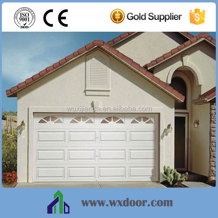 electric horizontal sliding single/double garage door