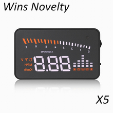 Best Selling X5 OBD2 Heads Up Display digital dashboard hud head up display accessories. car