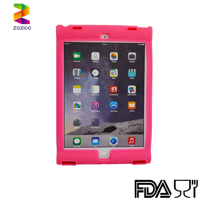 Silicone Tablet Case For Ipad Air 2 9.7Inch Rugged Kids Shock Proof Silicone Protective Tablet Cover Case For Ipad Air 2