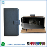 ID slot stand cover flip case For Zte Axon Mini Book stand wallet leather case
