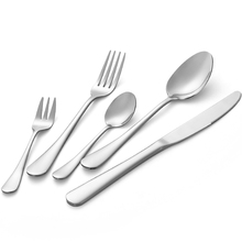 Travel Portable Reusable Spoon Fork Knife Stainless Steel Silver Cutlery <strong>Set</strong>