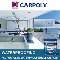 Carpoly All purposed waterproof emulsion paint, IJFS727, Waterproofing