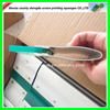 High performance triple durometer polyurethane squeegee blade