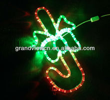 walking stick R+G led motif light for christmas and holiday