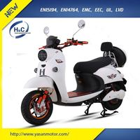 Electric powered 1200W 60V electric motorcycle adult for sales 2 wheel EEC electric scooter
