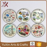 ceramic magnet by print any pictures for fridge wholesale better than paper with magnet HI-Q