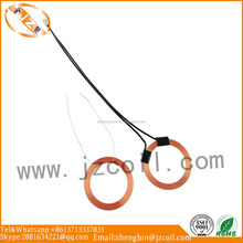 RFID tag air coil antenna coil induction copper coil with shrink tube