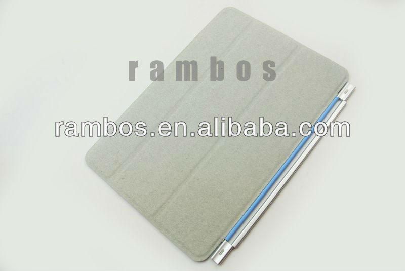 Flip magnetic folio stand smart cover for apple iPad mini