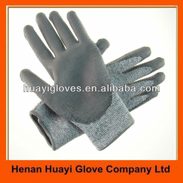 Anti Cut Safety Gloves For Glass Handling Work HYM195