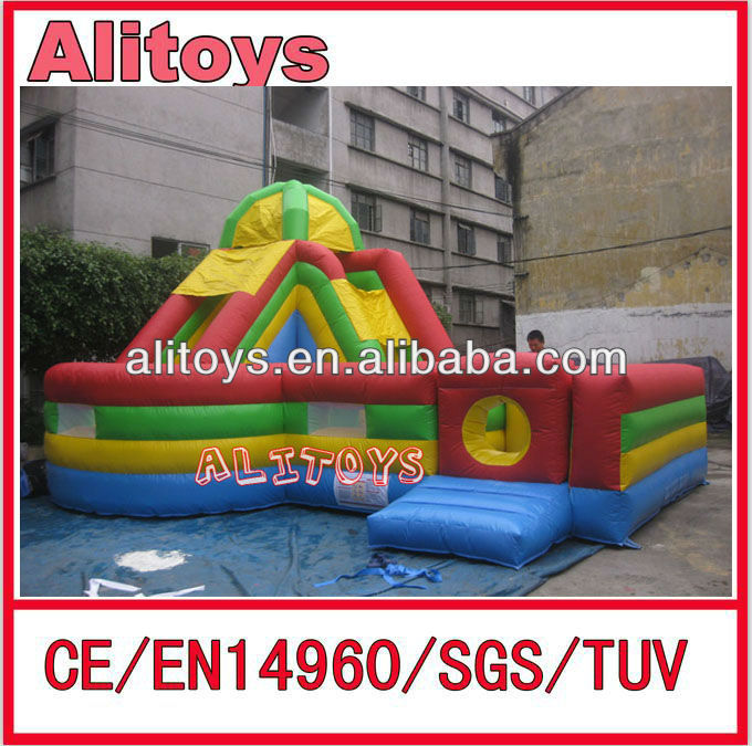 Hot commercial pirate inflatable mini combo jumper slides for children
