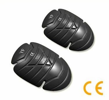 CE Protective Memory foam PU knee elbow pads motorcycle jacket knee armor pad