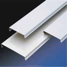 Popular Indoor Aluminum Strip Ceiling S Shape Model Ceiling