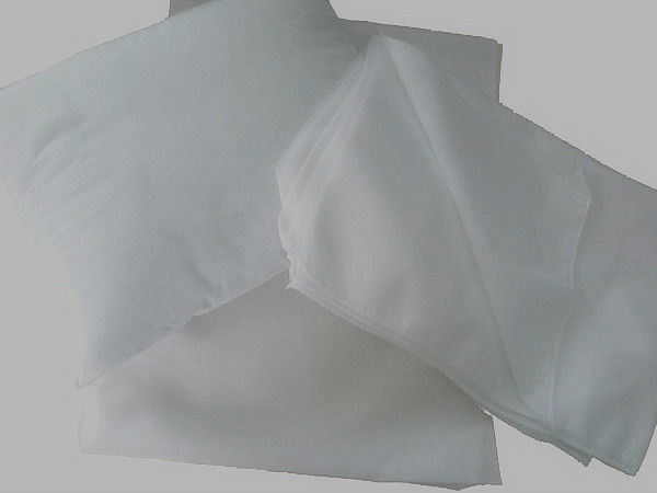 OEM white&hydrophilic Pillowslip with spunlace/needle-pouched nonwoven for medical/domestic use packing EO sterile