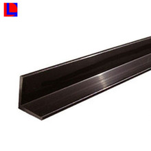 Brown color anodized L angle aluminum thin wall channel extrusion