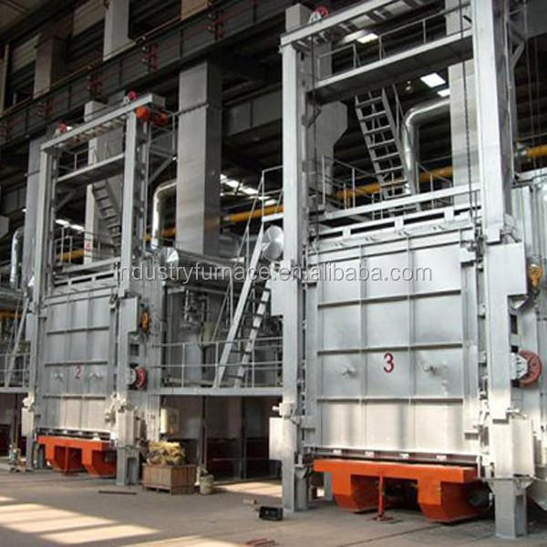 Low Energy Consumption Bogie-Hearth Gas Vacuum Quenching Electric Furnace