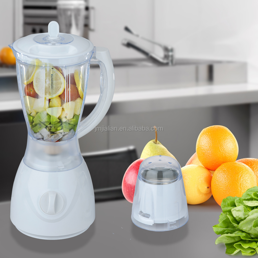 JL-B734 2 in 1 Electric National Juicer Blender with Grinder Cup