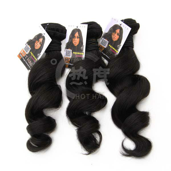 nice day hair stock lot and plastic 100% human weaving virgin peruvian hair