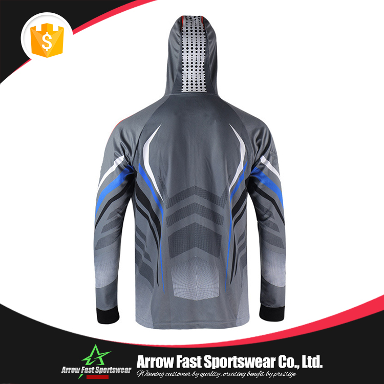 Hooded tournament sublimation fishing wear
