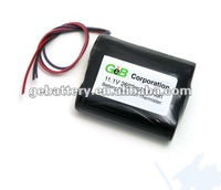 Li-Ion 18650 11.1V 2600mAh PCB Protected Rechargeable Battery Pack w/ Thermister