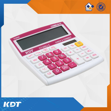 12 digit promotion office desktop calculator cover