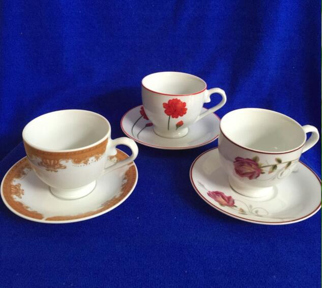 bulk ceramic porcelain tea cups and saucers cheap