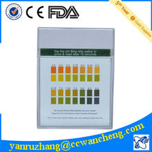 urinalysis ph test strip