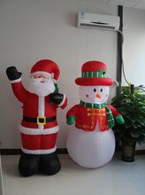 inflatable Christmas model,large outdoor christmas decorations,lowes outdoor christmas decorations