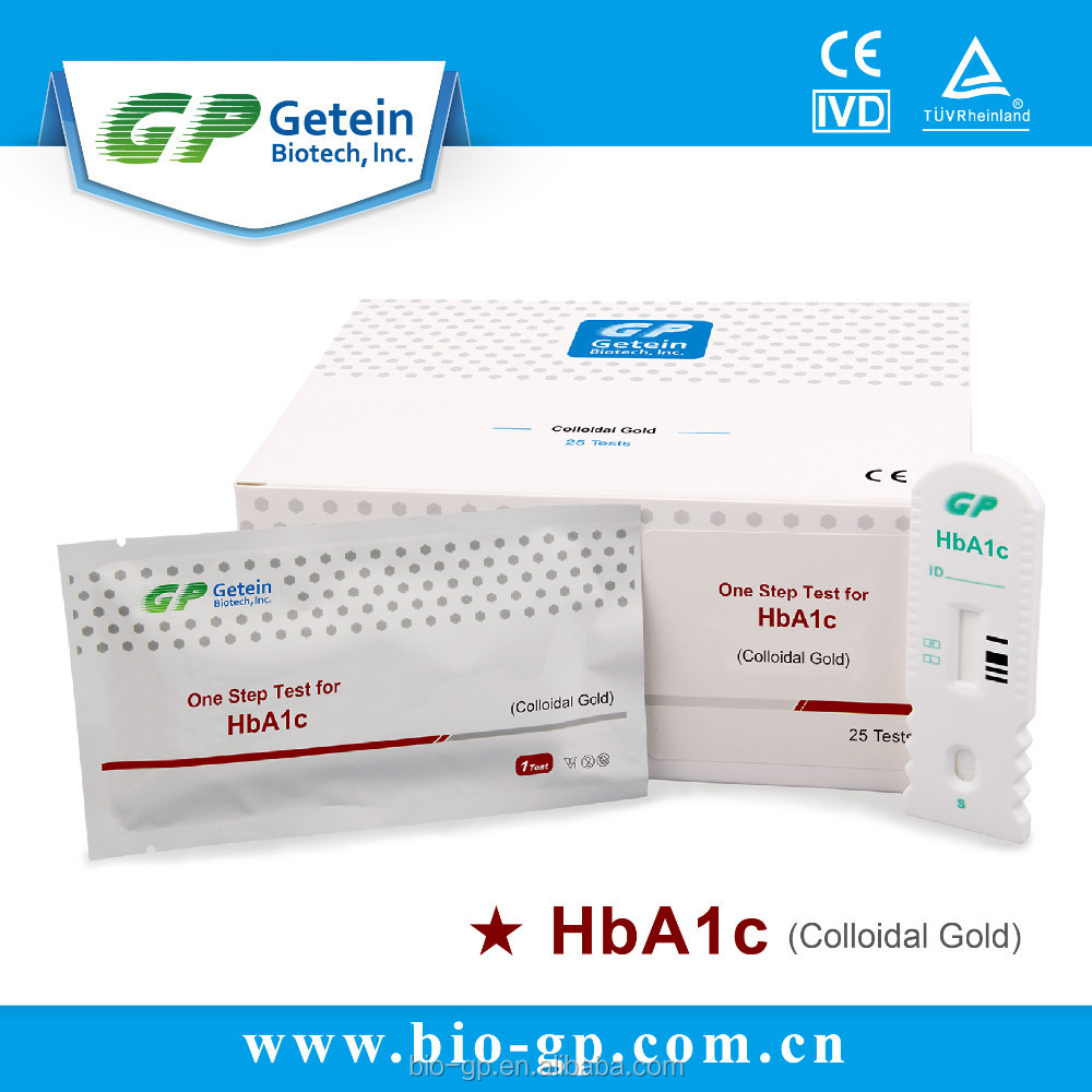 One Step Test for HbA1c (Colloidal Gold)