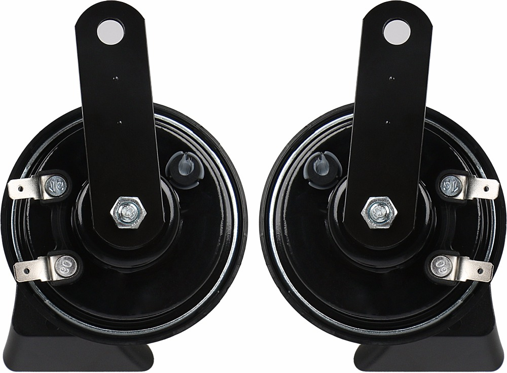 Carall K80B Russia MIMS Lada New Black Metal High Tone Horn Car ISO/TS16949 Speaker Snail Auto Horn