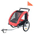 Dog Pet Bike Trailer / Stroller w/ Swivel Wheel(PT005)