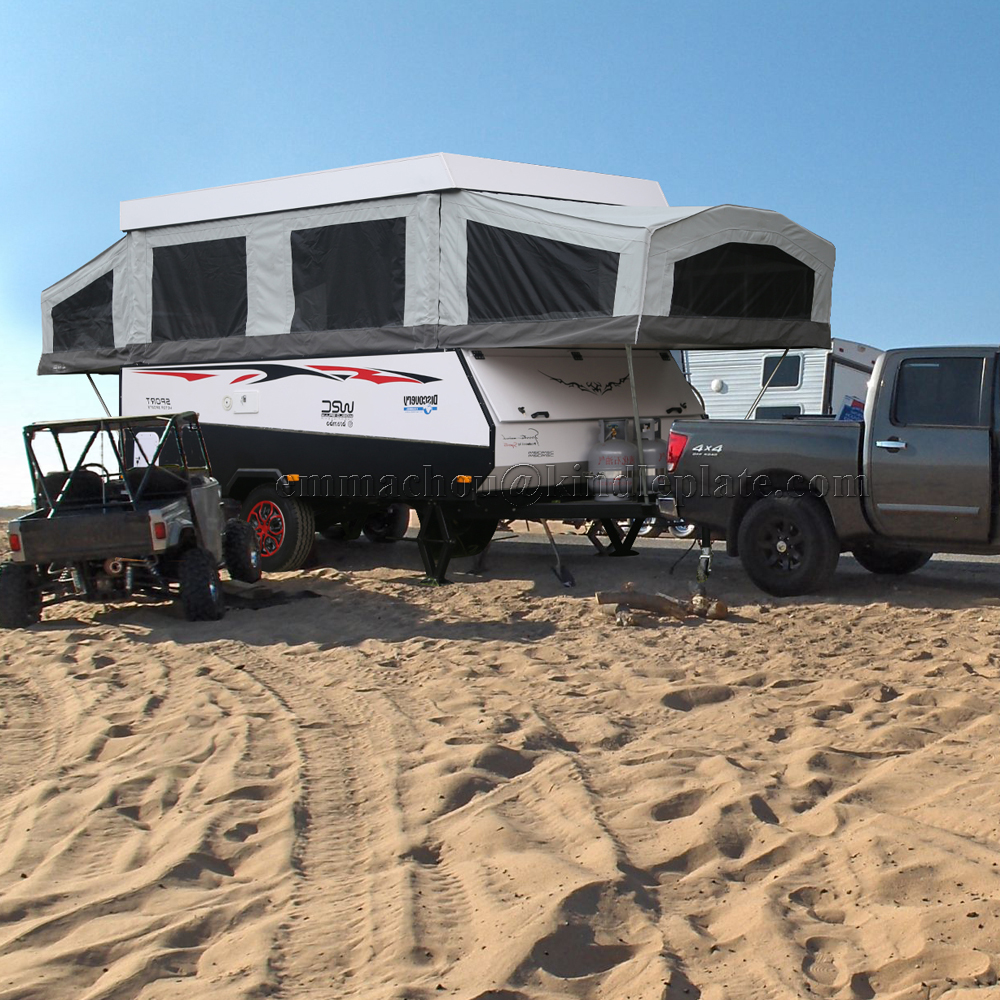 Off Road Independent suspension Caravans and Motorhomes