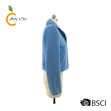 Breathable high quality materials colors available lady jacket women price overcoats