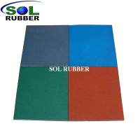 Easy To Install Outdoor Rubber Flooring