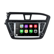 1024*600 Quad Core android 5.1 Autoradio gps car stereo radio audio player for Hyundai i20 2015 car multimedia gps (left hand)